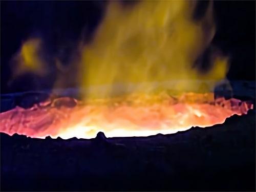 溶融施設の写真