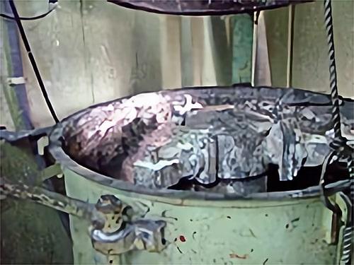 不溶化施設の写真