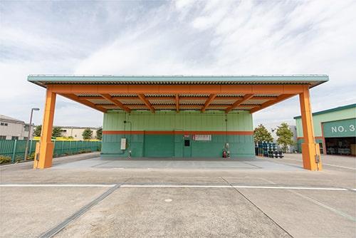 屋内貯蔵所(独立平屋建て)の写真