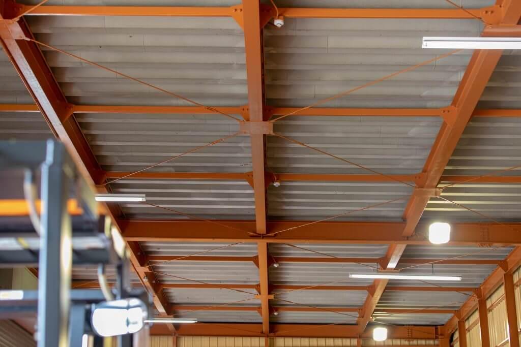 倉庫の天井